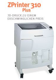 3D Drucker ZPrinter310plus
